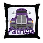 Trucker Patricia Throw Pillow