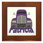 Trucker Patricia Framed Tile