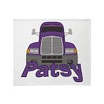 Trucker Patsy Throw Blanket