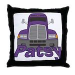 Trucker Patsy Throw Pillow