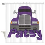 Trucker Patsy Shower Curtain