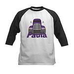 Trucker Paula Kids Baseball Jersey