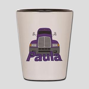 Trucker Paula Shot Glass
