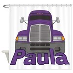 Trucker Paula Shower Curtain