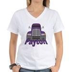 Trucker Payton Women's V-Neck T-Shirt