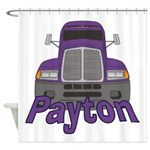 Trucker Payton Shower Curtain