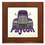 Trucker Payton Framed Tile