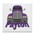 Trucker Payton Tile Coaster