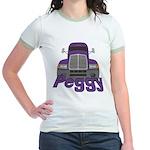 Trucker Peggy Jr. Ringer T-Shirt
