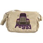 Trucker Peggy Messenger Bag