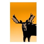 Sunset Moose Postcards (Package of 8)