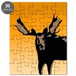 Sunset Moose Puzzle
