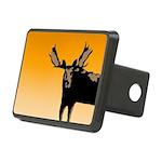Sunset Moose Rectangular Hitch Cover