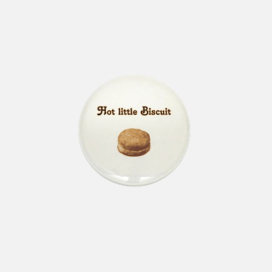 Hot Little Biscuit Mini Button