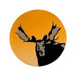 Sunset Moose Button