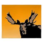 Sunset Moose King Duvet