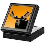 Sunset Moose Keepsake Box