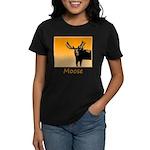 Sunset Moose Women's Dark T-Shirt