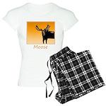 Sunset Moose Women's Light Pajamas
