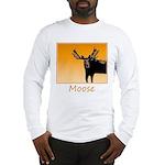 Sunset Moose Long Sleeve T-Shirt