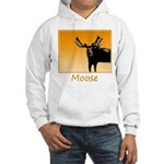 Sunset Moose Hooded Sweatshirt