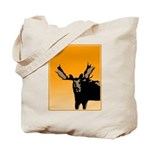 Sunset Moose Tote Bag
