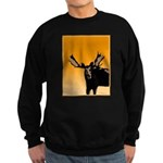 Sunset Moose Sweatshirt (dark)