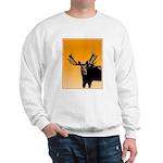 Sunset Moose Sweatshirt