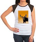 Sunset Moose Junior's Cap Sleeve T-Shirt