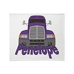 Trucker Penelope Throw Blanket