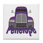 Trucker Penelope Tile Coaster