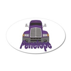 Trucker Penelope Wall Decal