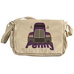 Trucker Penny Messenger Bag