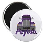 Trucker Peyton Magnet