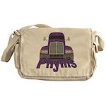 Trucker Phyllis Messenger Bag