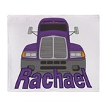 Trucker Rachael Throw Blanket