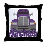 Trucker Rachael Throw Pillow