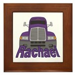 Trucker Rachael Framed Tile