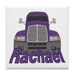 Trucker Rachael Tile Coaster