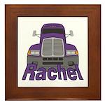 Trucker Rachel Framed Tile