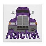 Trucker Rachel Tile Coaster
