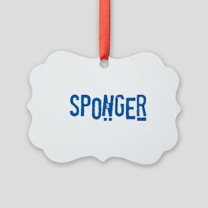 Sponger Picture Ornament