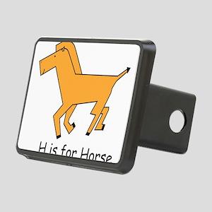 horse10 Rectangular Hitch Cover