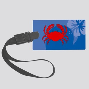 Crab Large Luggage Tag