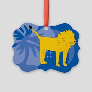 Lion Picture Ornament