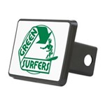 Green Surfers 10 Rectangular Hitch Cover