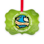 Earth Day Picture Ornament