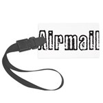 Airmail Large Luggage Tag