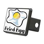 Fried Egg Rectangular Hitch Cover