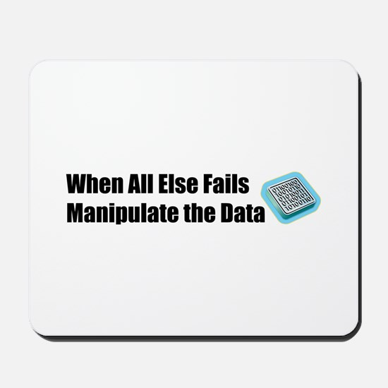 Manipulate the Data Mousepad